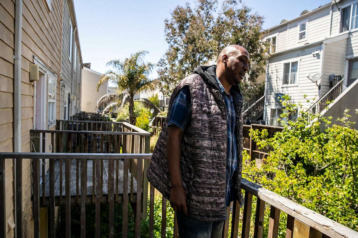 Dennis Williams, a Plaza East Apartments tenant, is leading the lawsuit over what he calls