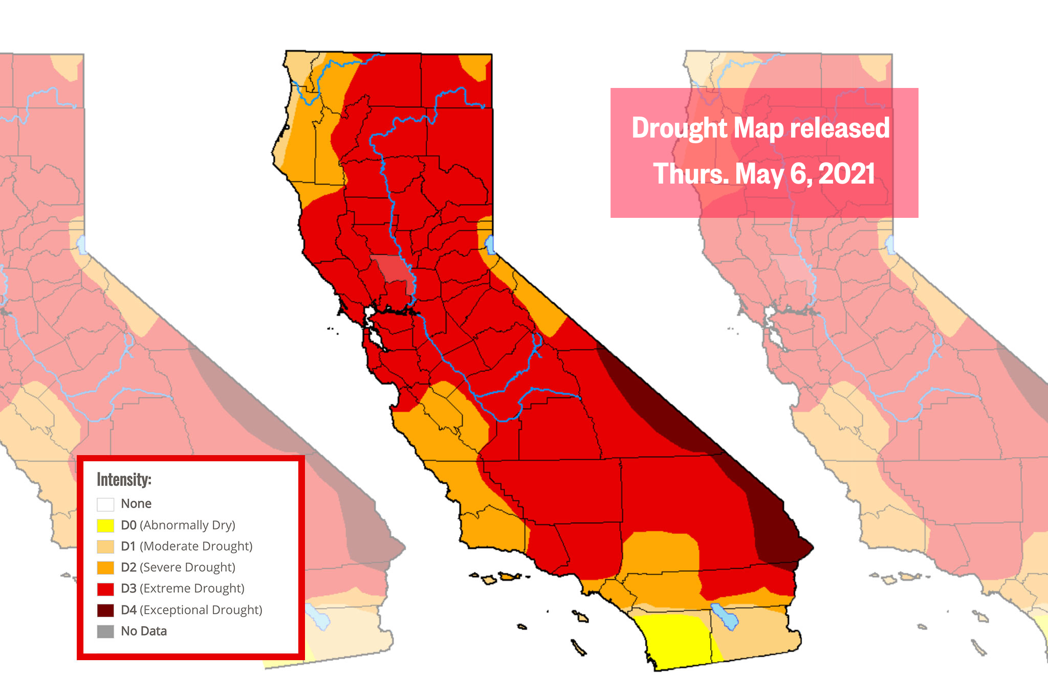 New federal map puts entire SF Bay Area in 'extreme drought'