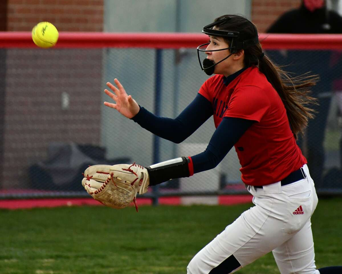 Plainview senior Esme Lucio was named Pitcher of the Year out of District 3-5A.