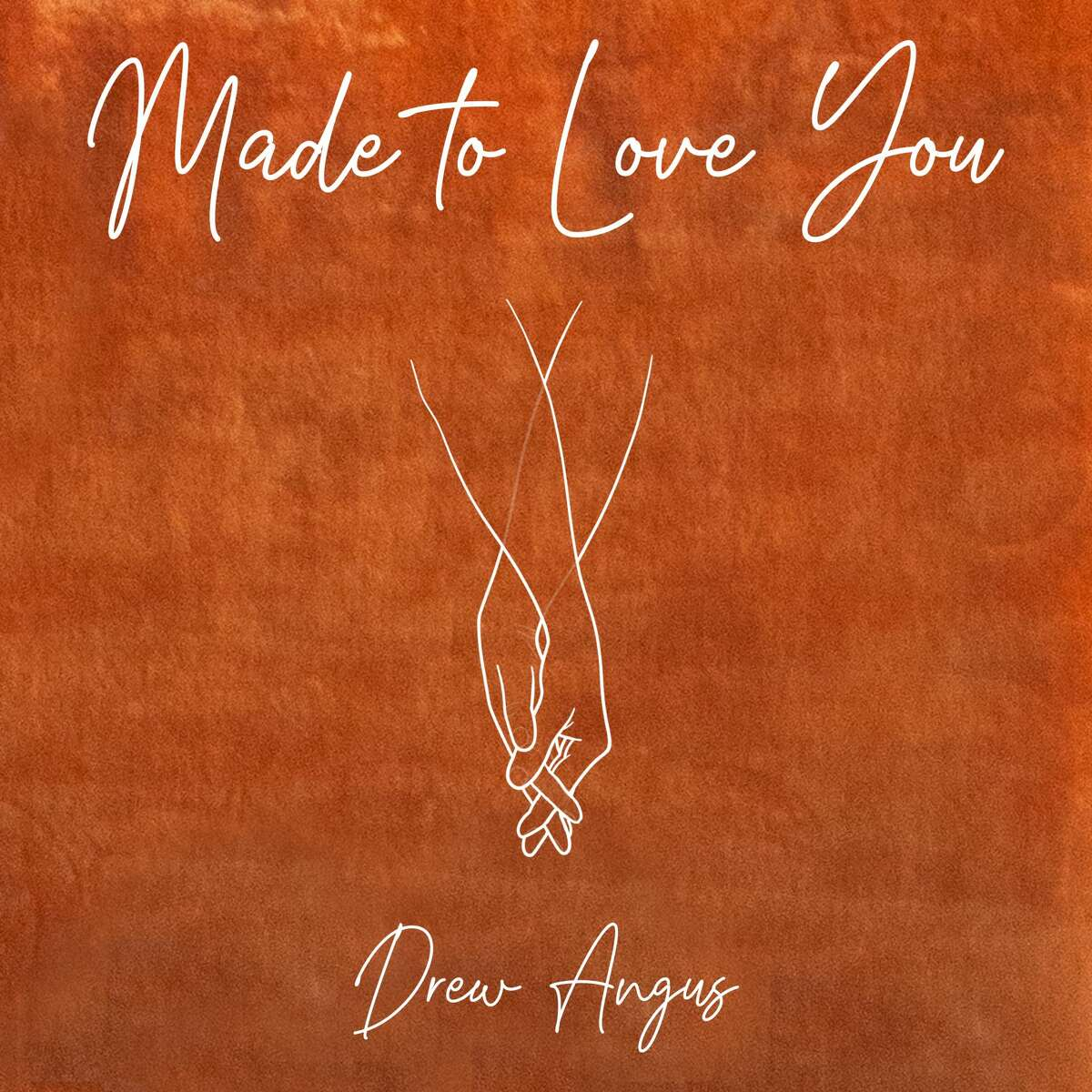 The cover for Drew Angus' latest single,
