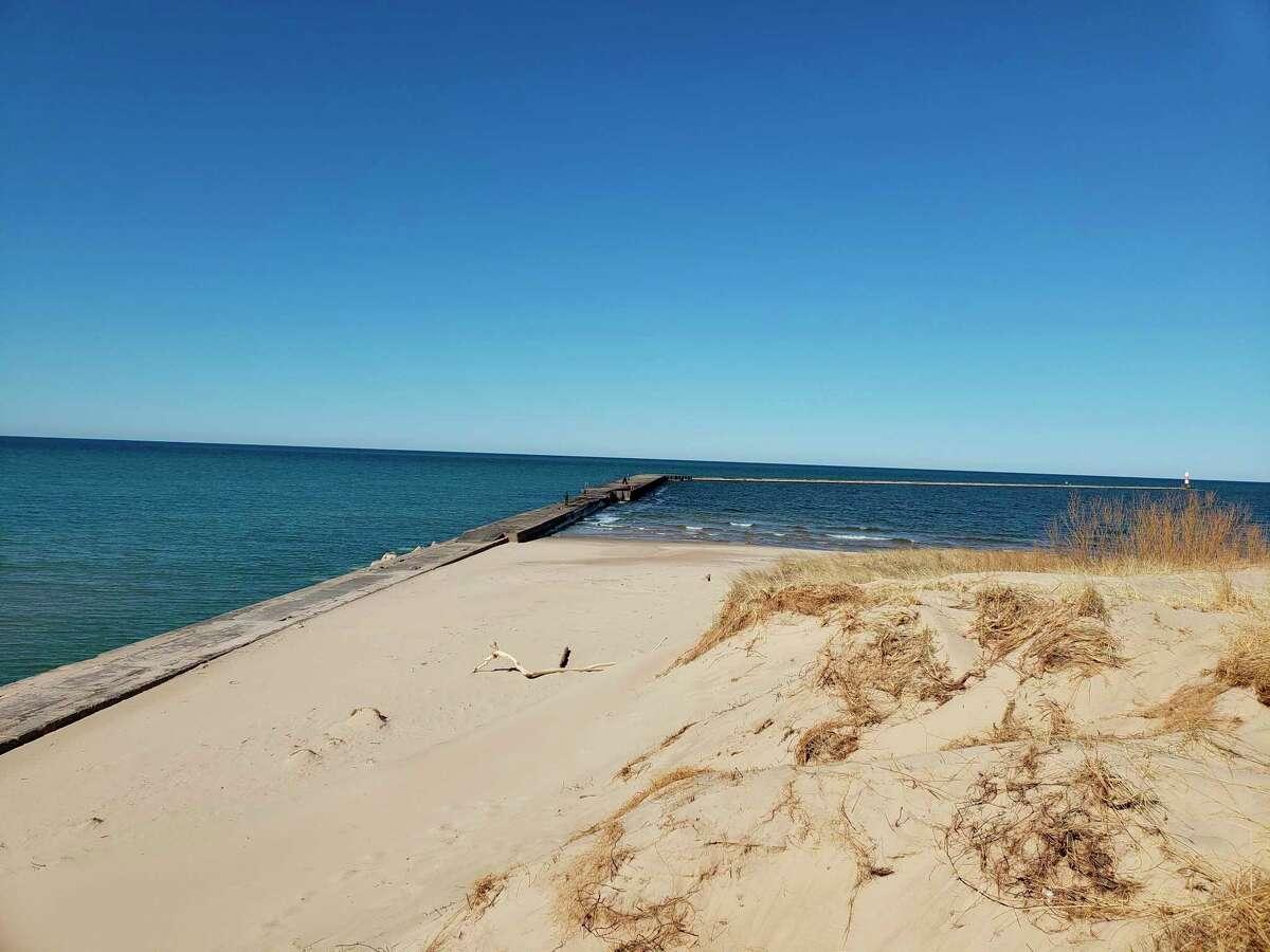 Roxanne Rowley likes to visit Lake Michigan and walk the stub pier, wherethe