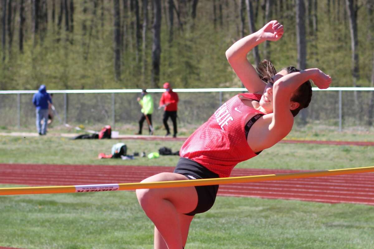 Benzie Central competes in its first home track and field meet of the season on May 5.
