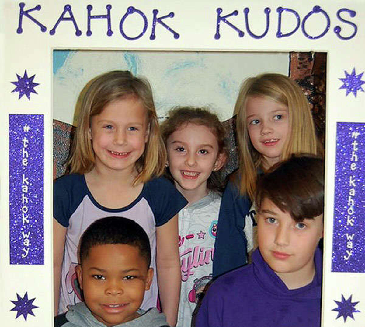 Five students, who are caught doing good things receive,