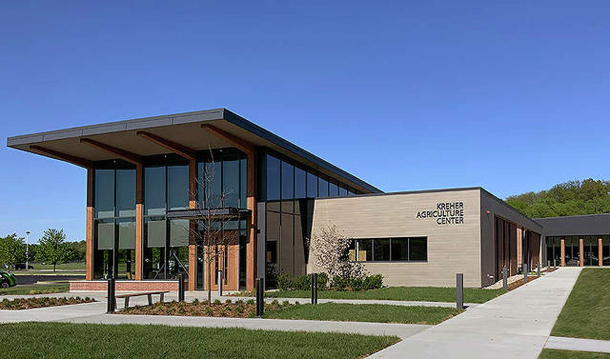 Lincoln Land Community College has marked completion of the Kreher Agriculture Center.