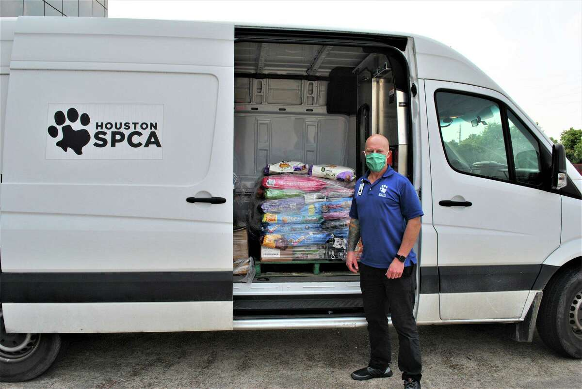 Northwest Assistance Ministries received a donation of dog food from the local SPCA.