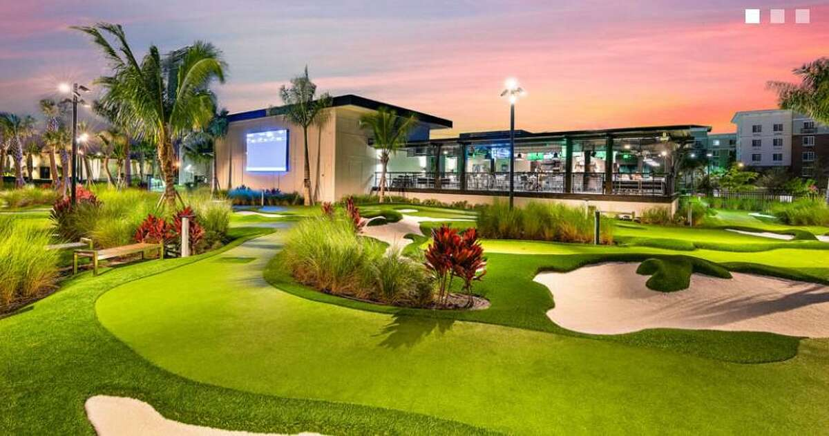 Tiger Woods' PopStroke Entertainment golf attraction will be opening in Katy in 2022.