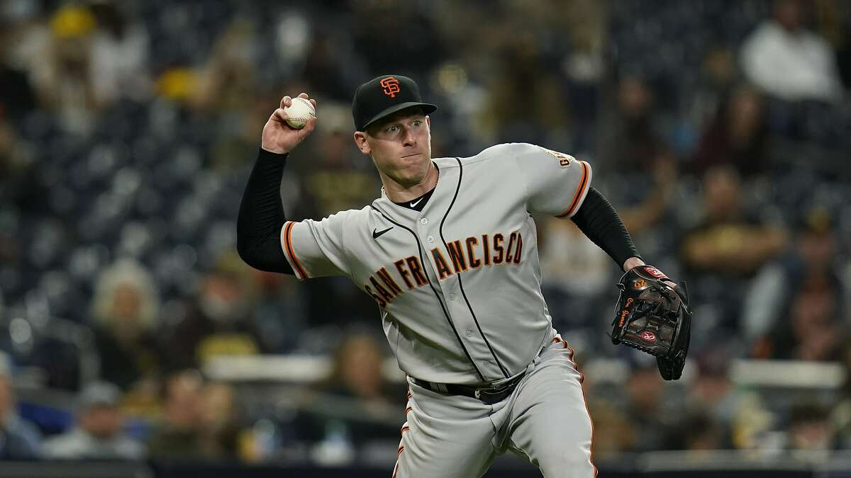Anthony DeSclafani, who gave up a three-run homer to Manny Machado in the first inning and took the loss in the Giants' 6-2 decision at San Diego on Saturday night, gets another shot at the Padres at Oracle Park at 6:45 p.m. Friday (NBCSBA/104.5, 680).