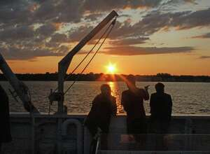 The Maritime Aquarium is currently offering Saturday Sunset Cruises.