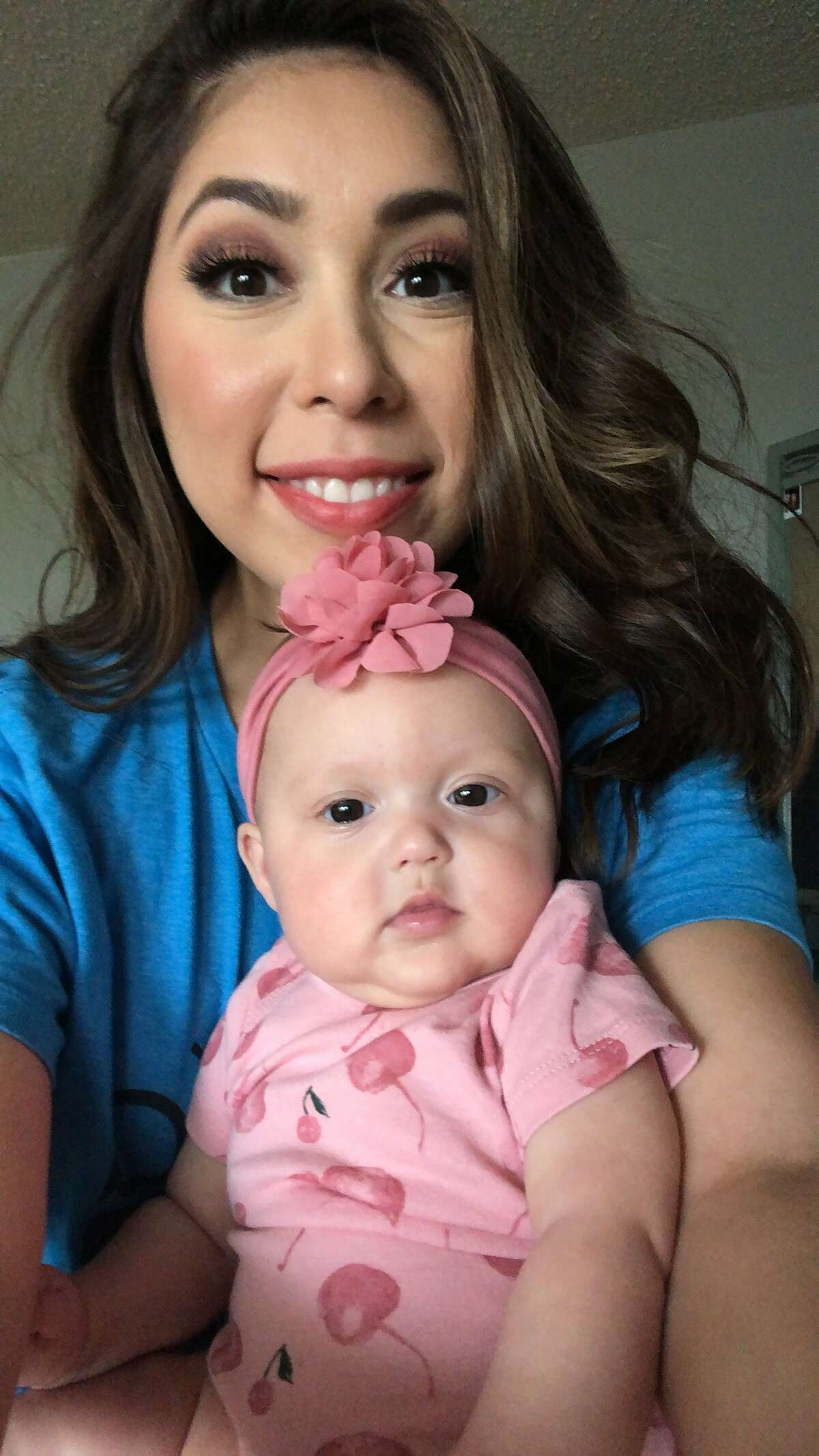 KENS 5 anchor Audrey Castoreno enjoys every moment with her daughter.