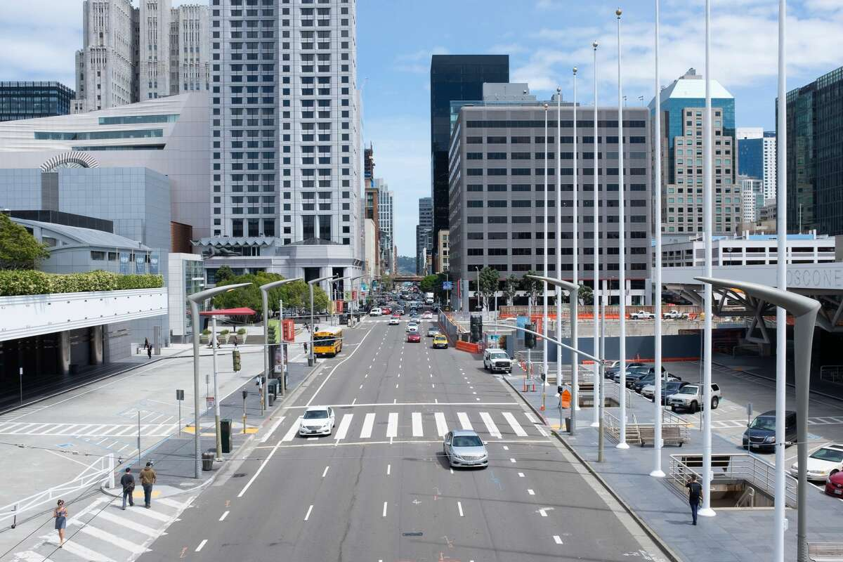 Moscone Center is the largest convention and exhibition complex in San Francisco.