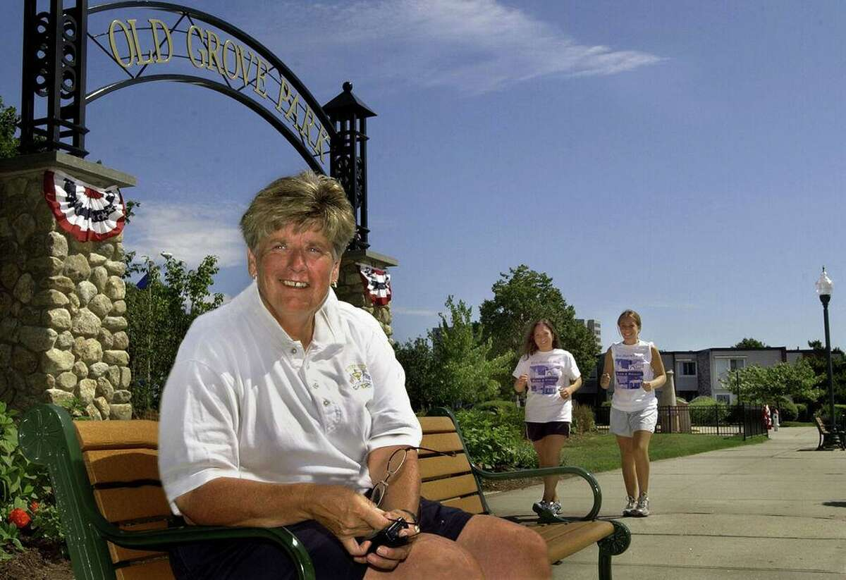 In 2003, Beth Sabo, a West Haven city official, was honored in New York for her work in fighting breast cancer.
