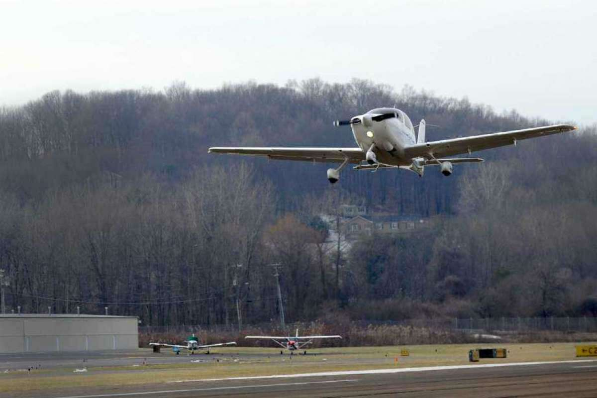 File photo. Danbury Municipal Airport.