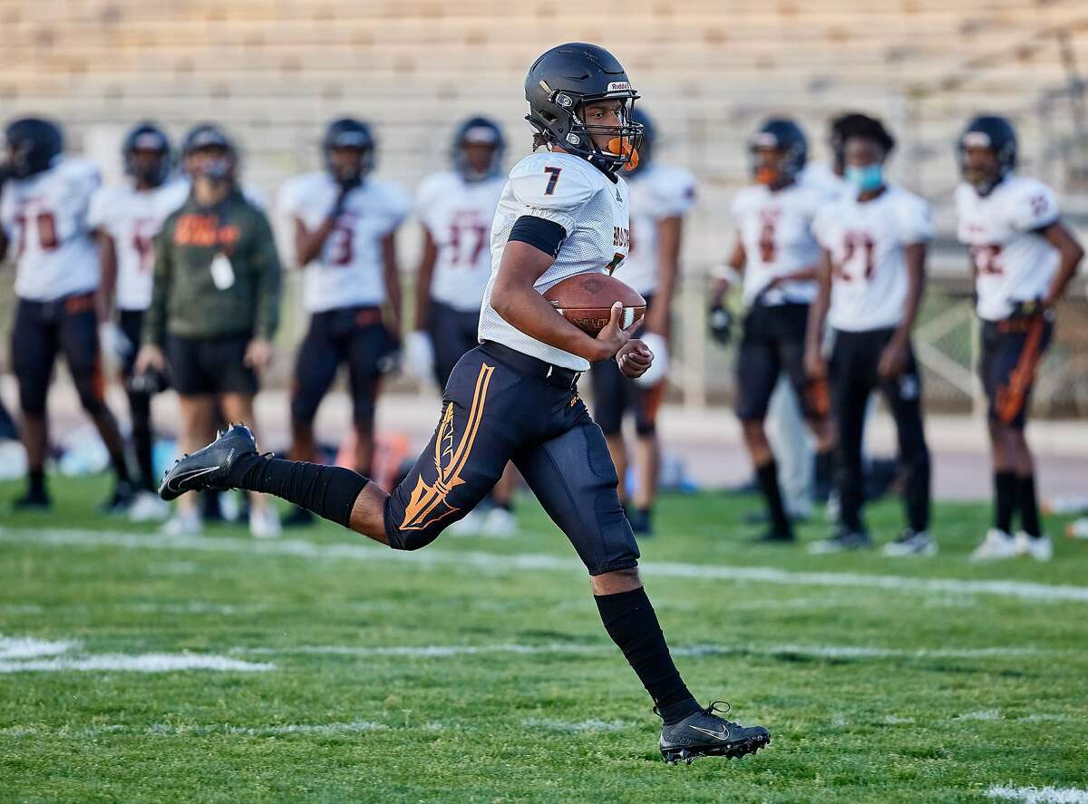 McClymonds's Dreyan Paul passed for 24 touchdowns and added six more rushing.