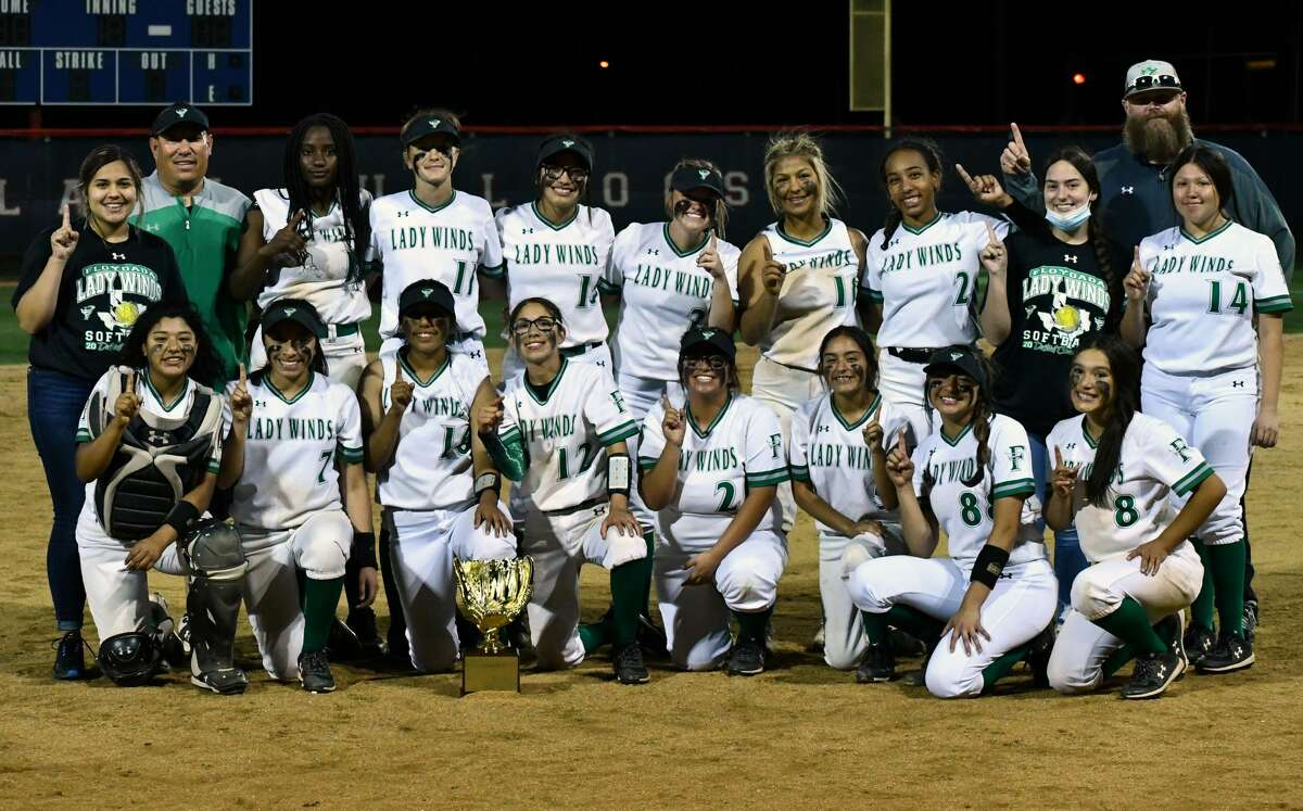 Second-ranked Floydada swept Sanford-Fritch 2-0 in a the area round of the UIL Class 2A softball playoffs on Thursday at Lady Bulldog Park at Plainview.