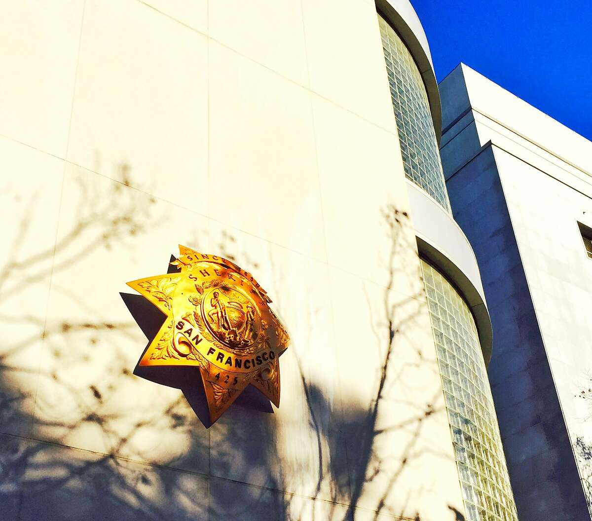 This undated file photo shows the San Francisco County Jail and Sheriff's Department headquarters.