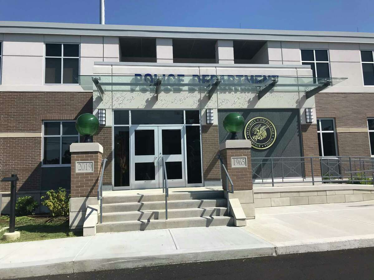 Newly renovated North Haven Police Department at 8 Linsley Street