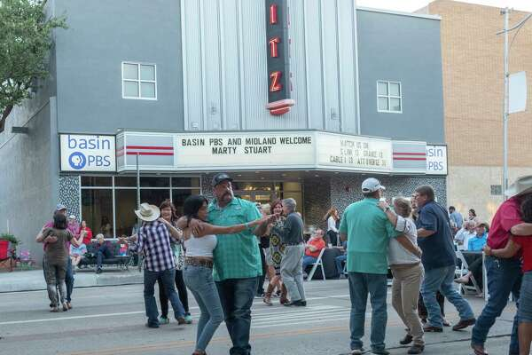Midlanders came out in support of Basin PBS and to listen to Marty Stuart and His Fabulous Band 05/06/2021 evening along Main Street in front of the Basin PBS building. Tim Fischer/Reporter-Telegram