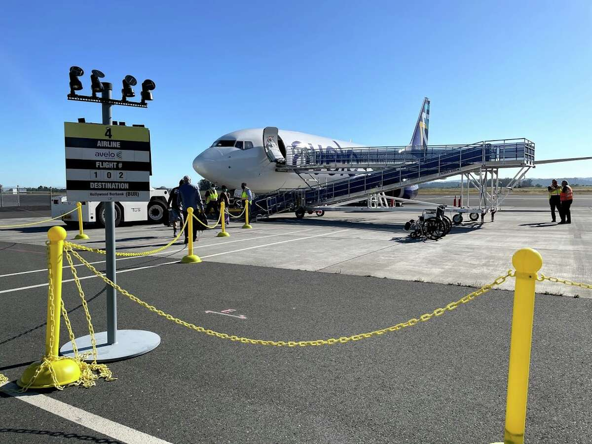 AVELO Air now flying out of Charles M. Schulz Sonoma County Airport.