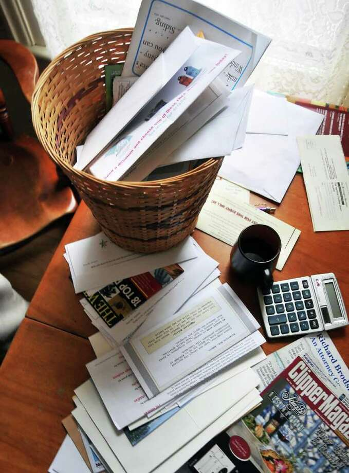 Postal authorities ask patrons to contact authorities if they suspect some mail is offering a scam.  (John Carl D'Annibale / Times Union) Photo: John Carl D'Annibale / 00010228A