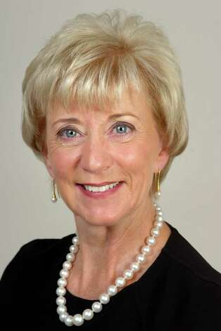 Linda McMahon, Republican candidate for U.S. Senate Photo: Ned Gerard / Connecticut Post
