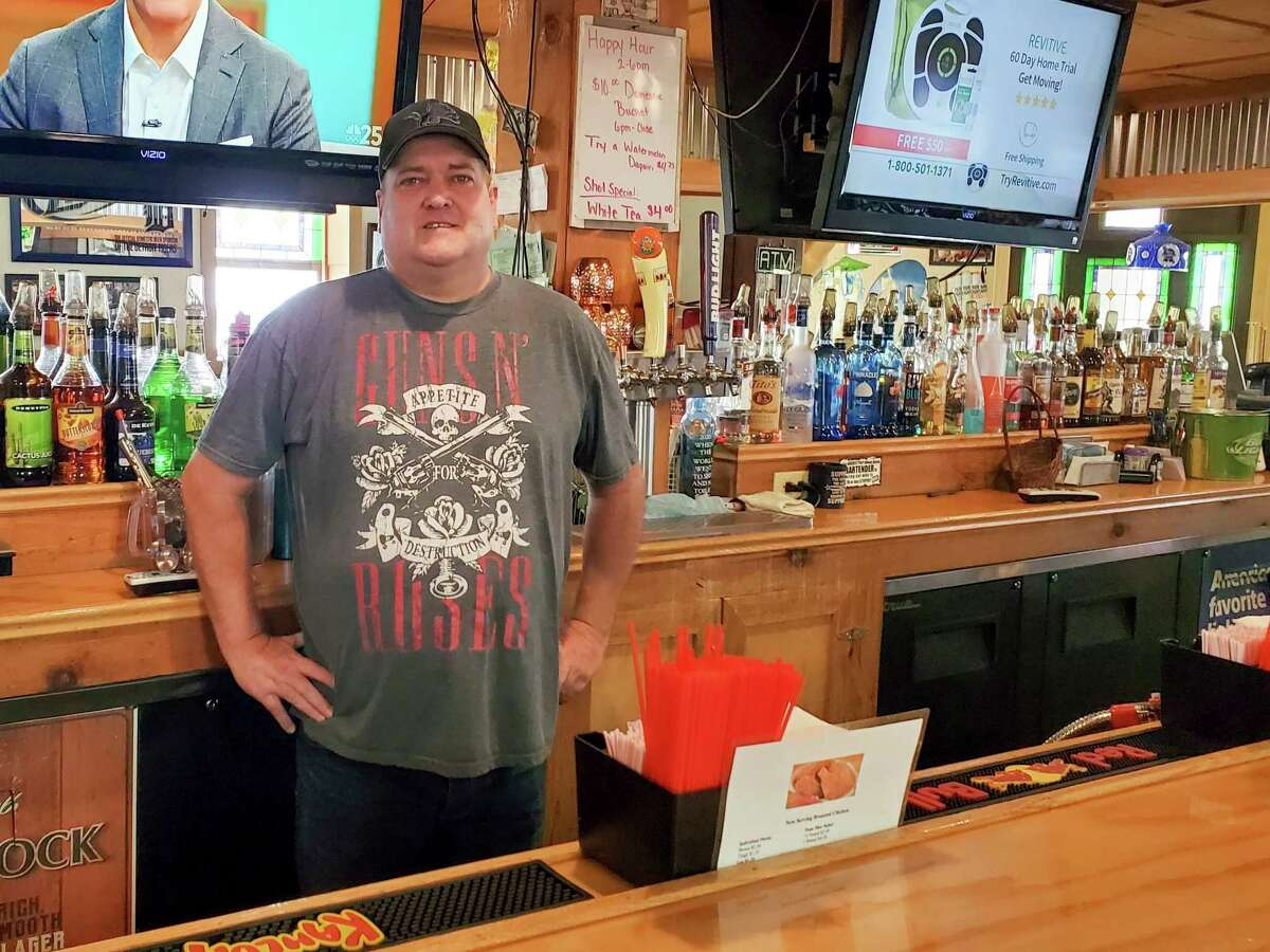 Jeff Daniels has owned and operated the Hitching Post Inn in Elkton for nine years. (Scott Nunn/Huron Daily Tribune)
