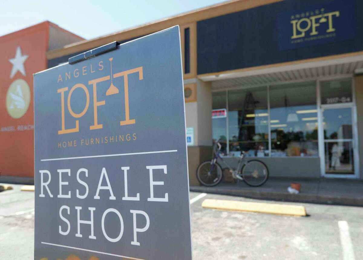 Angel Reach's Loft resale shop is one of the community outreach programs and helps fund several of the non-profit's programs, Wednesday, May 5, 2021, in Conroe. Angel Reach is a faith-based nonprofit organization that helps children and youth between the ages of 16-24 with employment, housing and other skills.