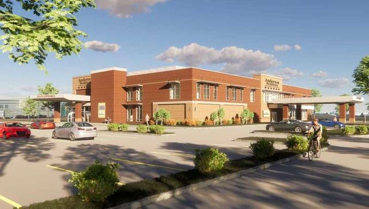 Ground was broken for a $20 million addition to the Anderson Healthcare Goshen Campus in Edwardsville.