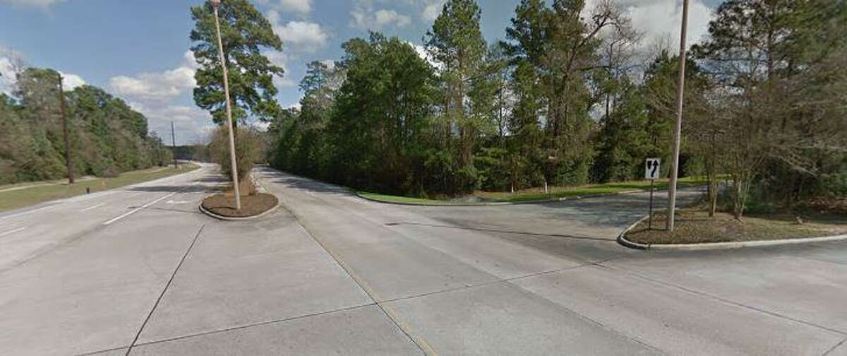A man died after being involved in a car crash on Gosling Road and New Trails Drive.