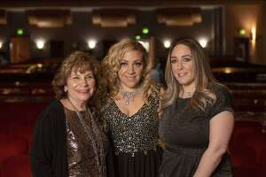 Kicks Dance Center owner Nancy Altieri, left, with daughters Julie Arcos and Christina Michaud. The studio, located off Bridgeport Avenue in Shelton, recently celebrated its 75th year in operation.