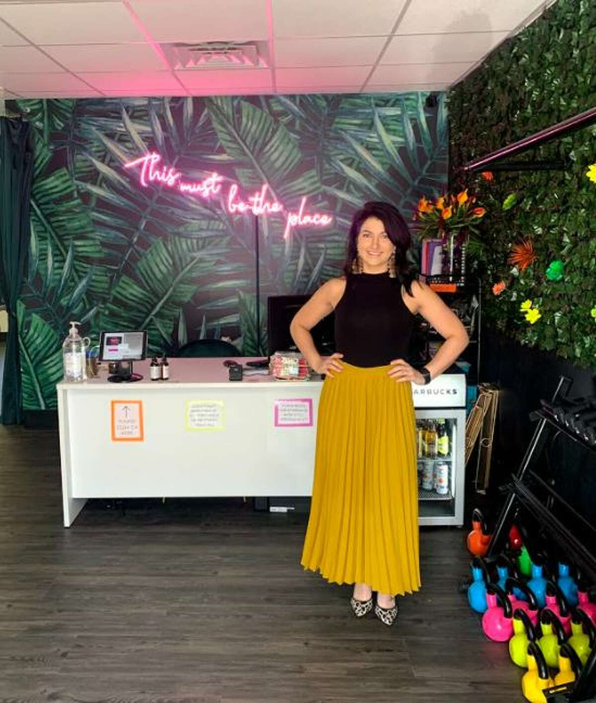 Lifelong Ridgefield resident Samantha Canale has opened a new fitness studio in town that is focused on bringing the fun while clients break a sweat.