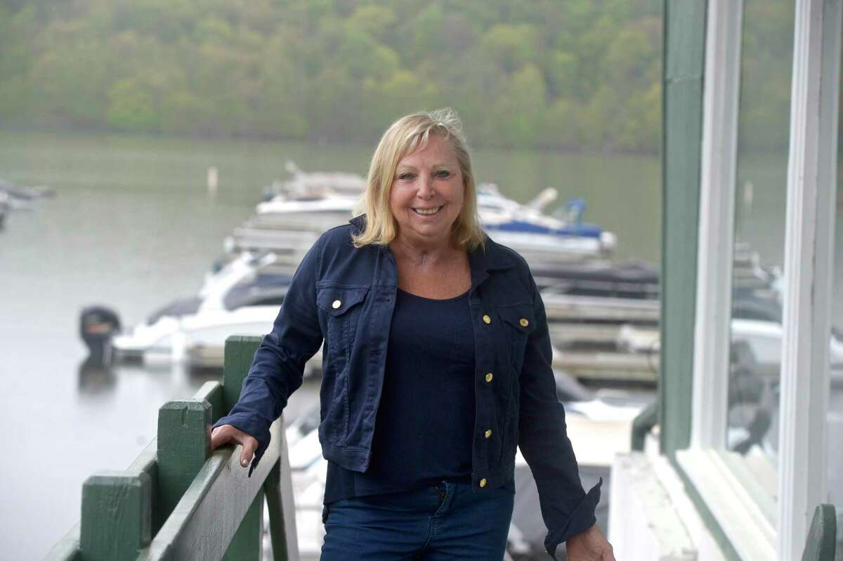 Krista Strol, of New Milford, on Sunday May 9, will celebrate a year since leaving Danbury Hospital after being treated for COVID-19. Wednesday, May 5, 2021, in New Milford, Conn.
