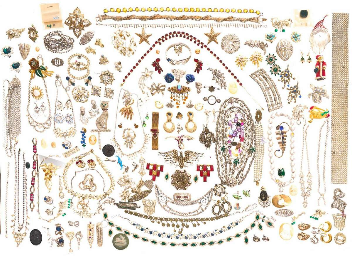 A treasure-chest level amount of costume jewelry A pirate would go cuckoo bananas for this loot - if that pirate loved cheap glam.