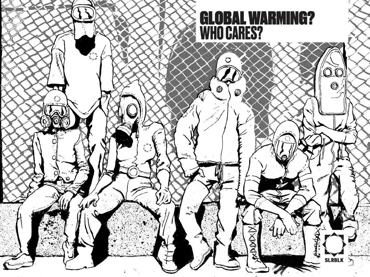 """""""The Solar Grid"""" is a graphic novel from Ganzeer, one of the most important artists of the Egyptian Revolution of 2011, who now lives in Houston."""