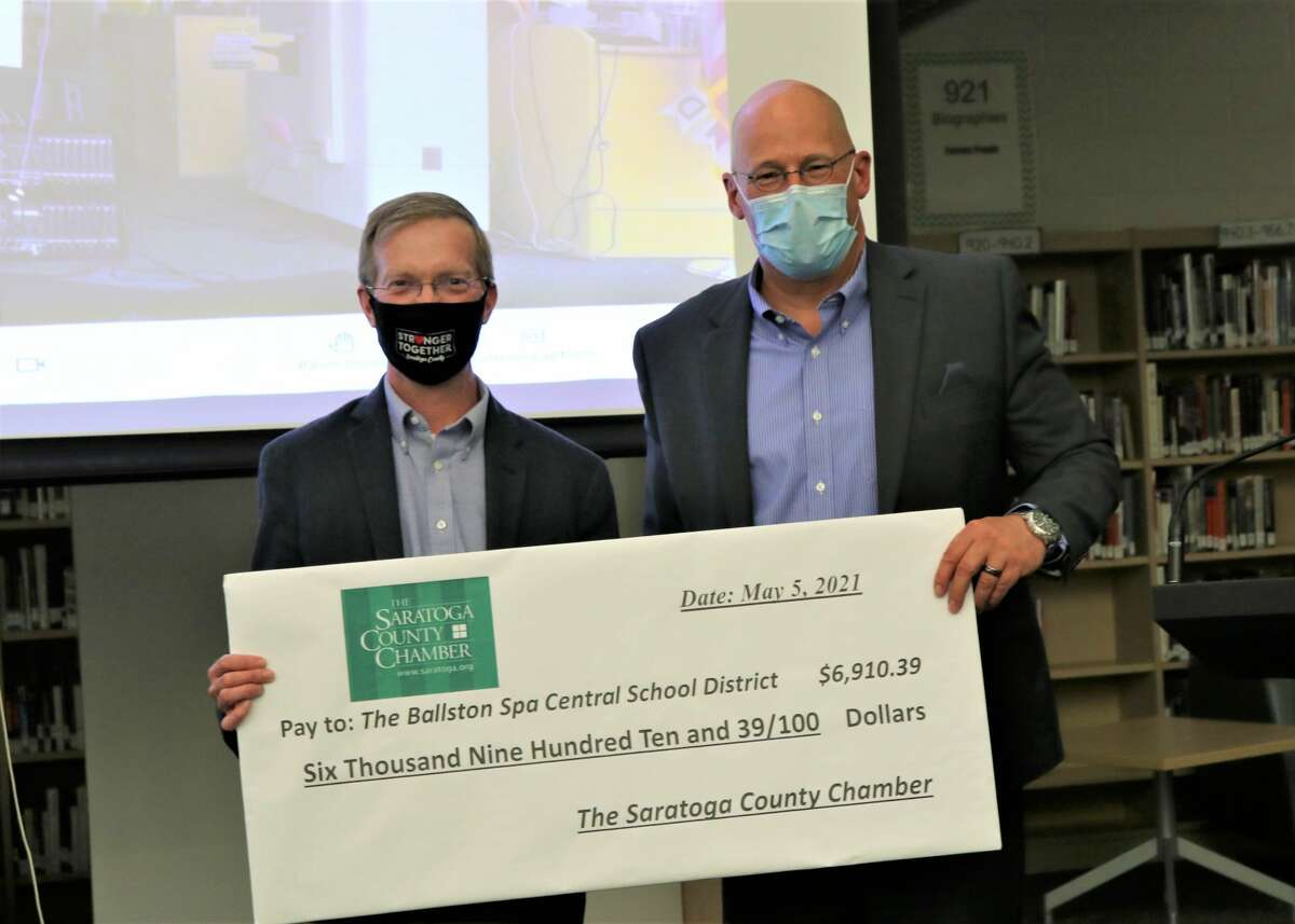 The Ballston Spa Central School District received support from Malta Food Fest, hosted by the Saratoga County Chamber of Commerce earlier this year at TEC-SMART in Malta.