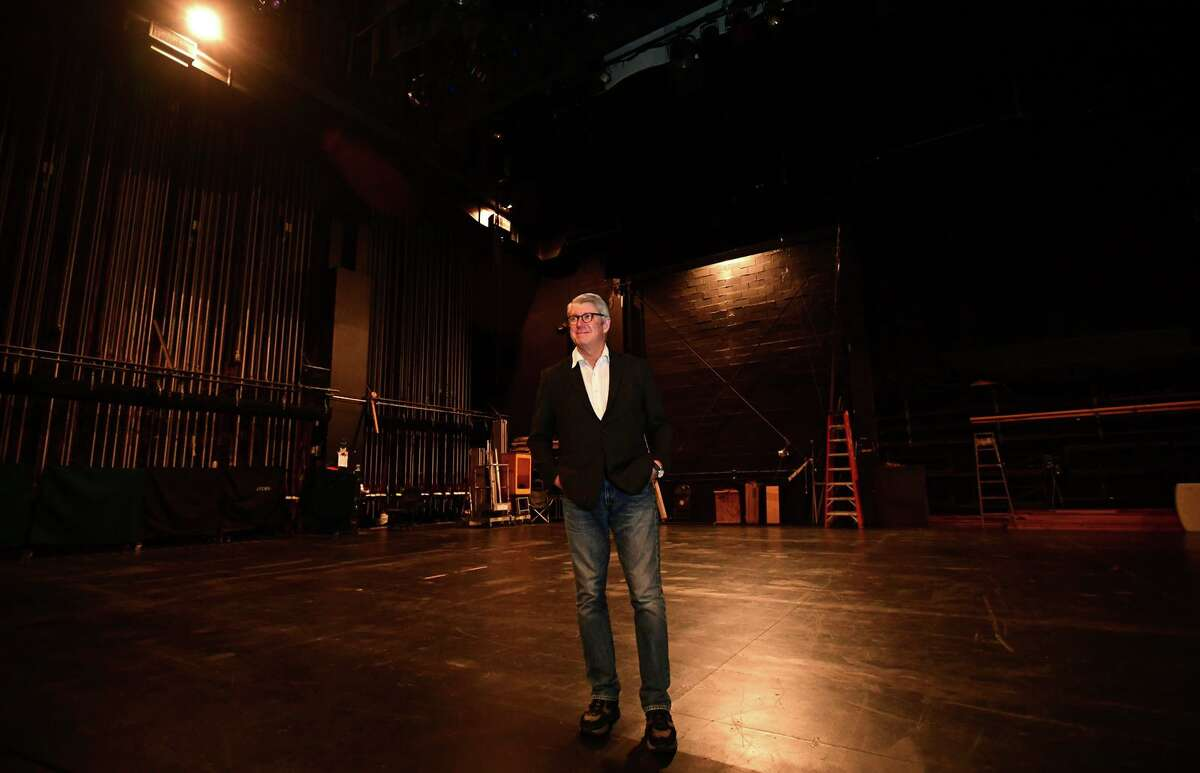 Michael Stern, Stamford Symphony music director Friday, May 7, 2021, at the Palace Theatre in Stamford, Conn. To close out the Stamford Symphony's 2020-21 season on a high note, the viewers of the final virtual premiere will witness Stamford Symphony's great return to the Palace Theatre.