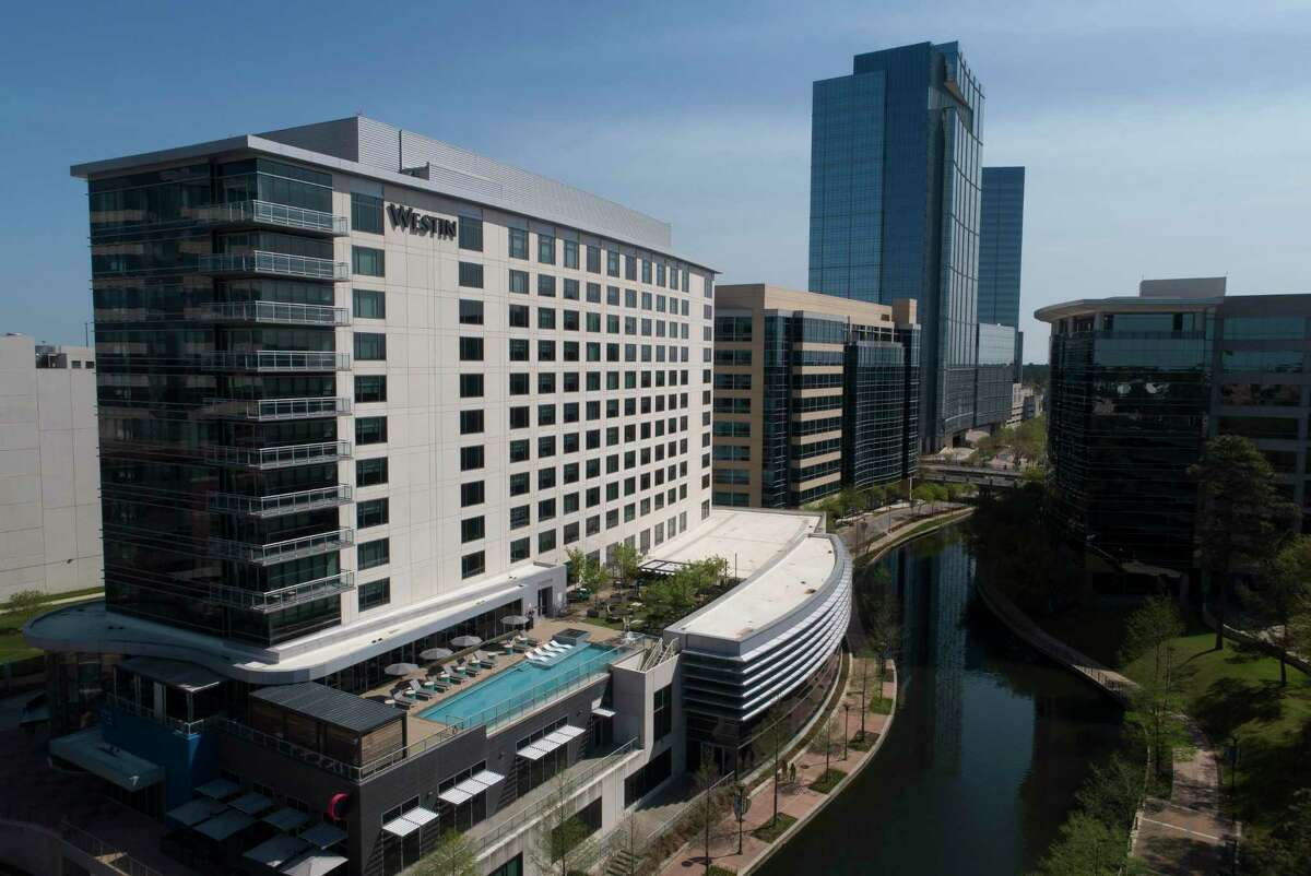 The Westin Hotel at The Woodlands Waterway is seen, Thursday, March 25, 2021, in The Woodlands.