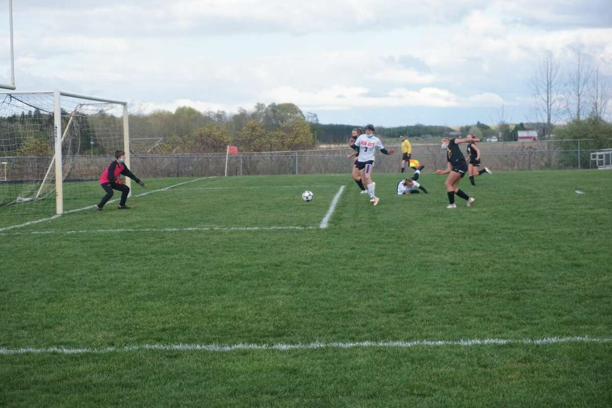 The Tri County Vikings tooks down the Coyotes of Reed City 5-1 Friday night on the soccer pitch.