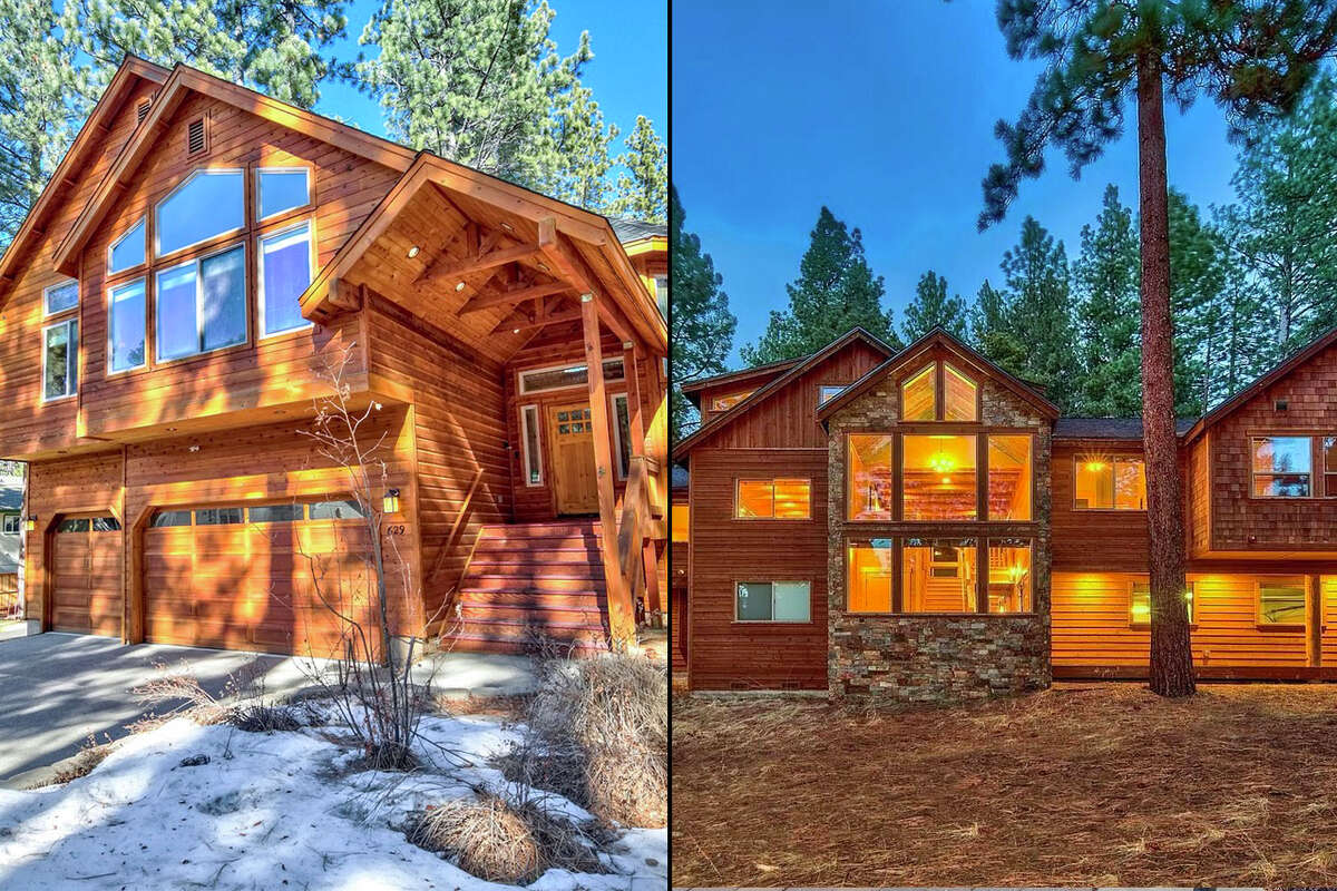 Two homes in South Lake Tahoe exemplify the state of the real estate market in Tahoe.