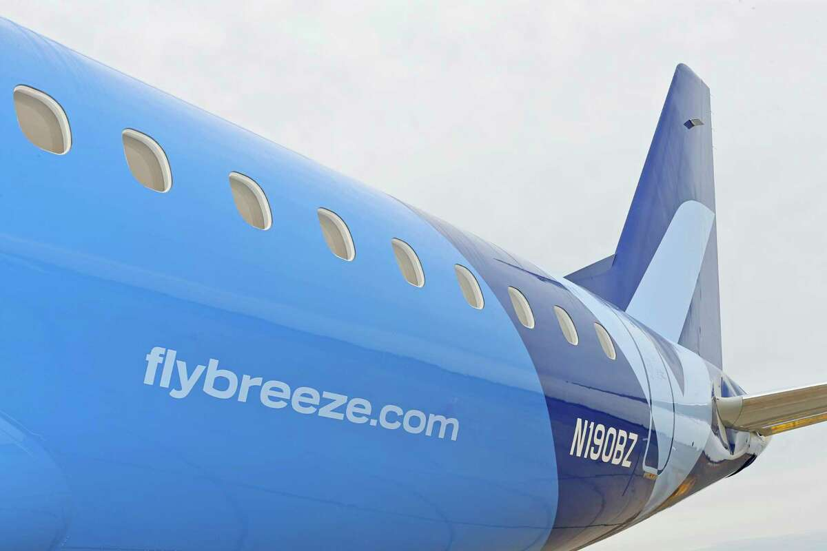 New airline Breeze Airways has expressed interest in operating at Sikorsky Airport in Stratford, which is owned by Bridgeport.