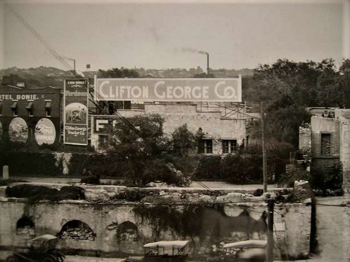 The Clifton George Motor Co. was one of many local businesses that advertised in the American Forum, the official newspaper of the Ku Klux Klan in this area