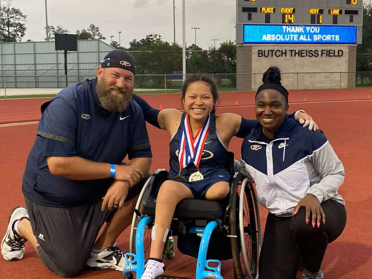 Klein Collins senior Chelsea Stein has accomplished a lot during her high school career, including participating in the UIL Track and Field State Meet twice and getting accepted to the University of Arizona.