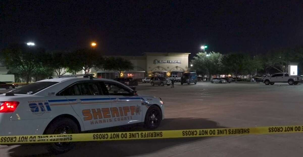 Authorities investigating a shooting in the parking lot of El Capitan in northwest Harris County that involved a deputy.