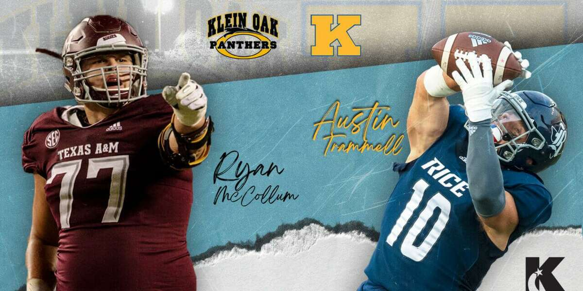 Klein ISD alumni Austin Trammell and Ryan McCollum are joining the NFL