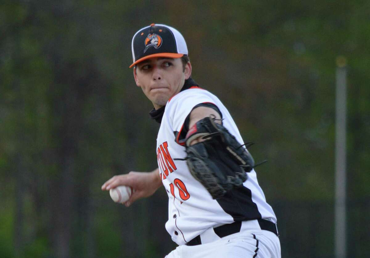 Connor Jenson pitched a one-hit, 13 strikeout shutout of top-ranked Hand.
