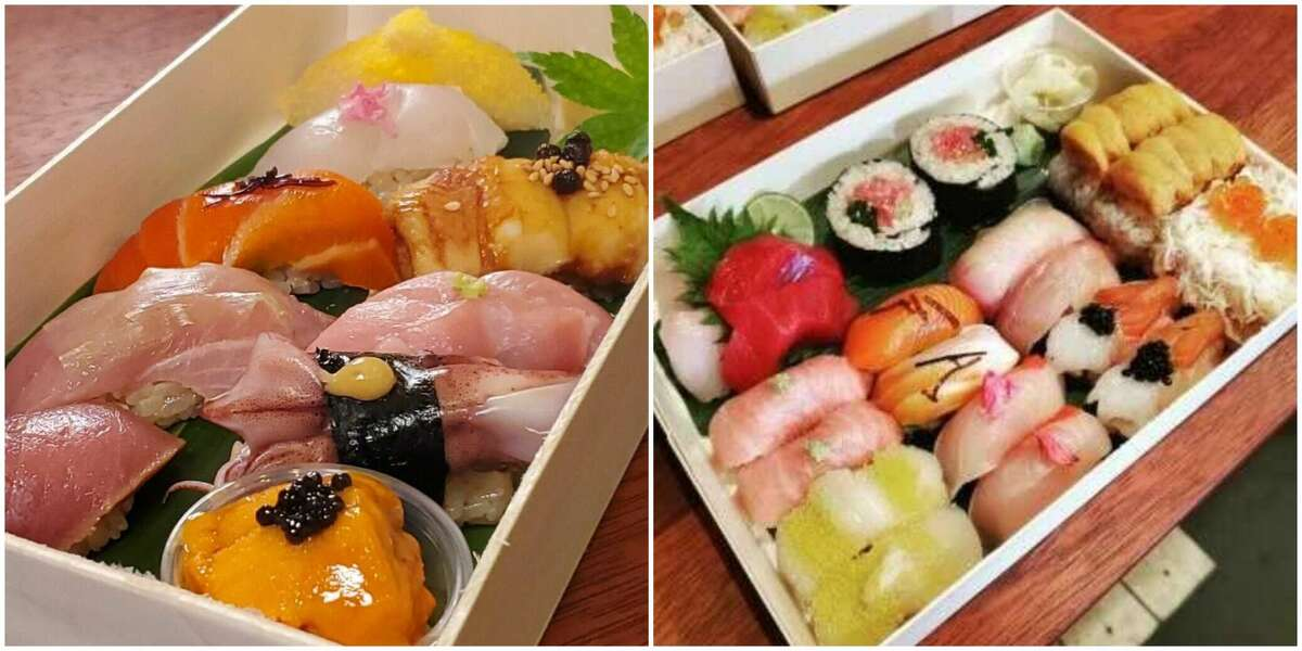 Chef Chi Hang Ngai is creating beautiful to-go sushi orders from his restaurant, Ken, in San Francisco.