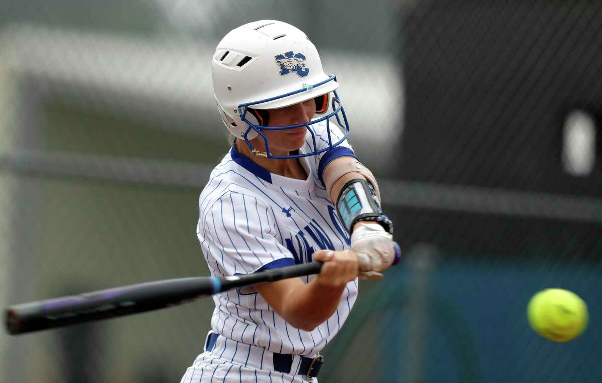 Corigan Beaird and the New Caney Lady Eagles defeated Lockhart 13-3 in the Region III-5A quarterfinals Saturday in Brenham.