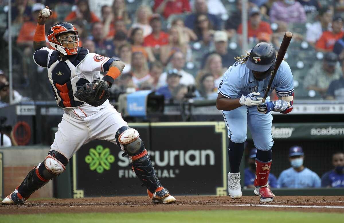 Once again, the Astros have leaned heavily on veteran catcher Martín Maldonado.