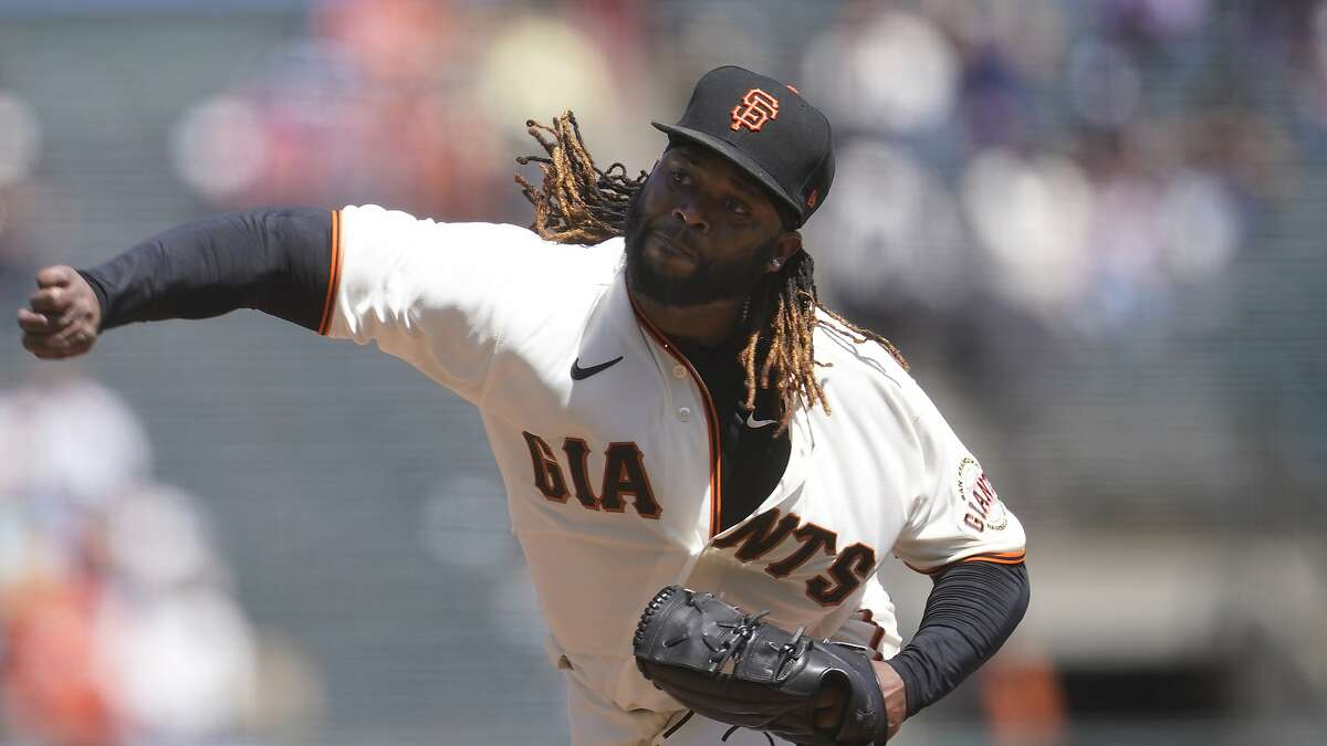 Johnny Cueto and the Giants will take on the Padres at 1 p.m. on NBCSBA.