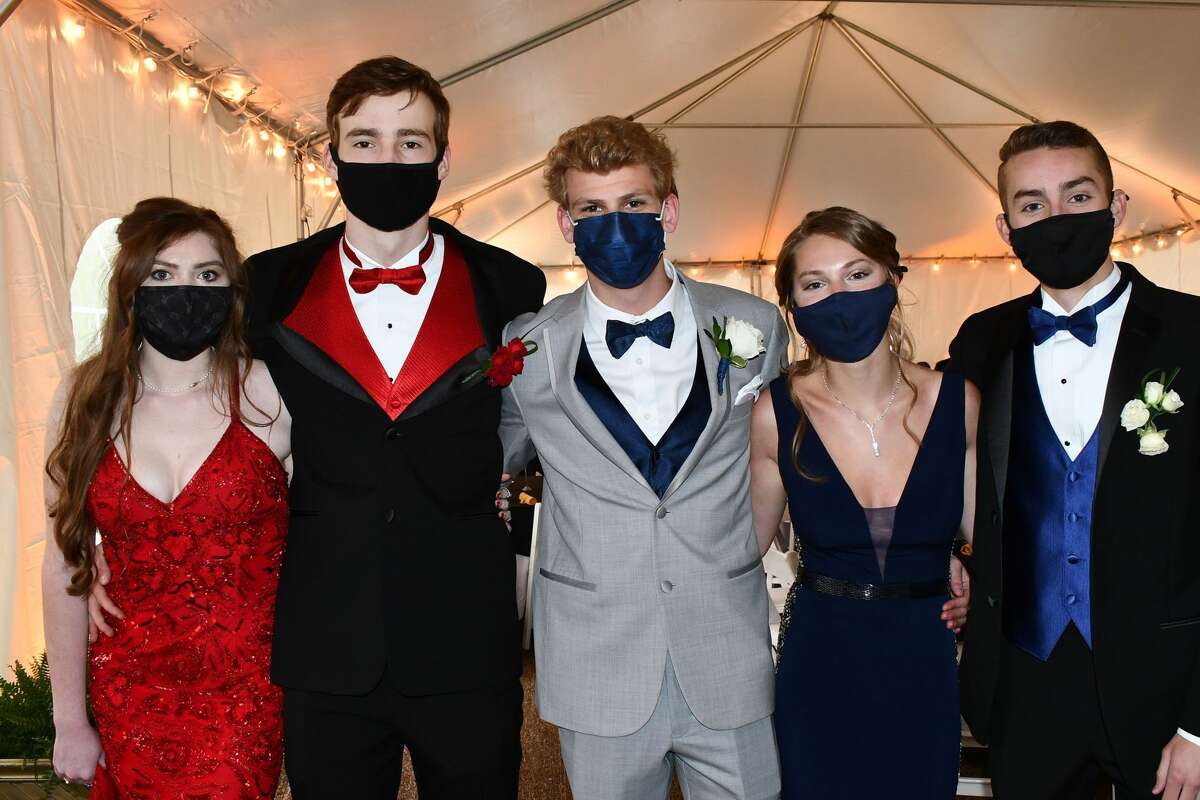 New Milford High School held its senior prom on May 8, 2021. The event was held outside on the grounds of the Amber Room in Danbury. Were you SEEN?