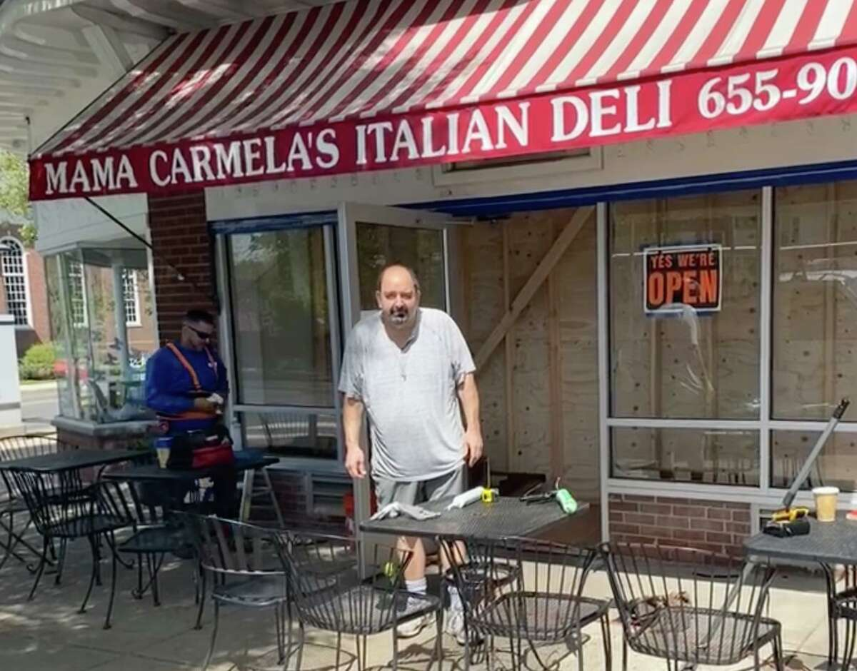 Mama Carmela's owner Frank Colandro, a Stamford native and resident, is in need of a stem cell transplant after chemotherapy. He is hoping members of the community will respond by requesting kits to see if they are a match.